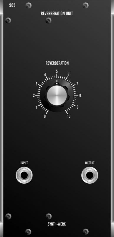 SW905 REVERBERATION UNIT