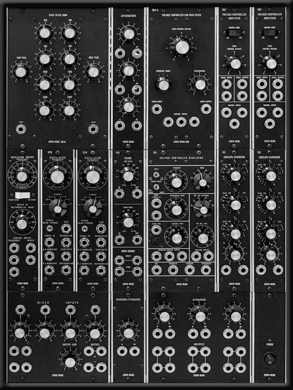 SW MODEL 15 SYNTHESIZER