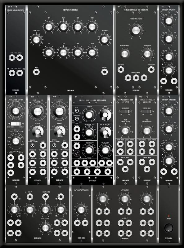 SW-MODEL 12 SYNTHESIZER